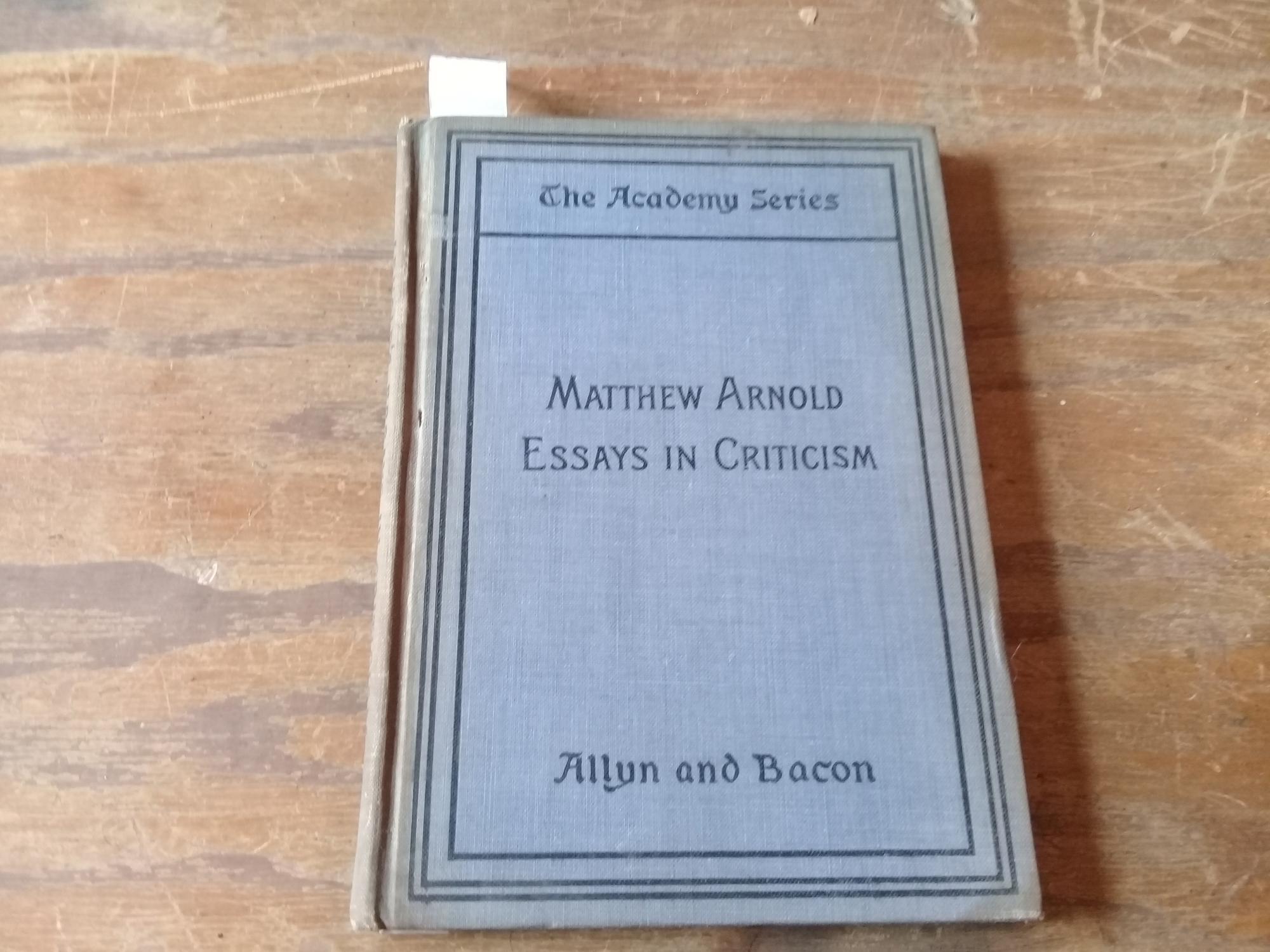 Matthew arnold essay on john keats good topic for essay argument