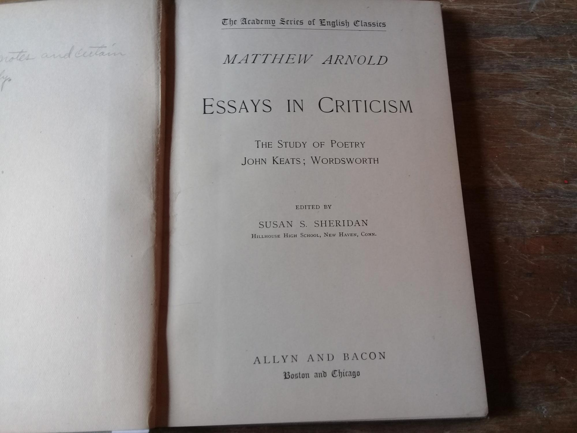 Matthew arnold essay on john keats help with  top resume online