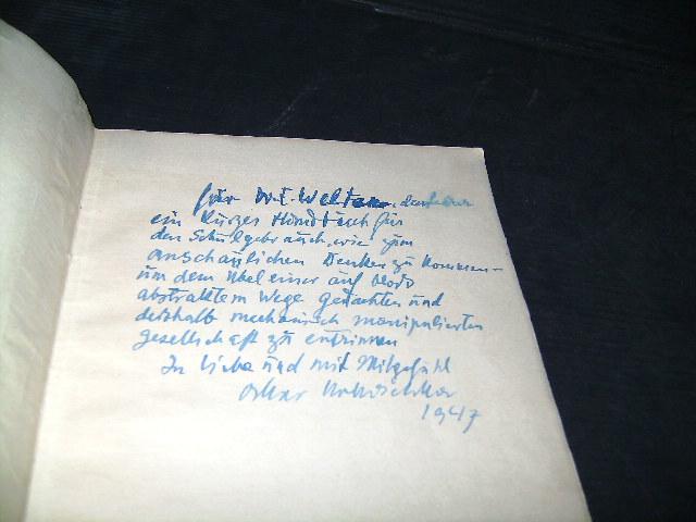 A petition from a foreign artist to: Kokoschka, Oskar.