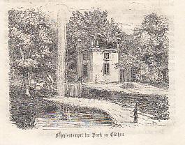 Sophientempel im Park zu Köthen. Original -: Köthen.
