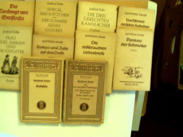 """10 Bücher aus der Reihe """"Reclam Universal-Bibliothek"""": Autorenkollektiv:"""