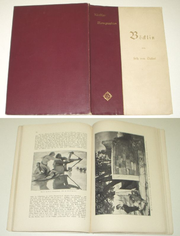 Künstler-Monographien: LXX (70) Böcklin: Fritz v. Ostini