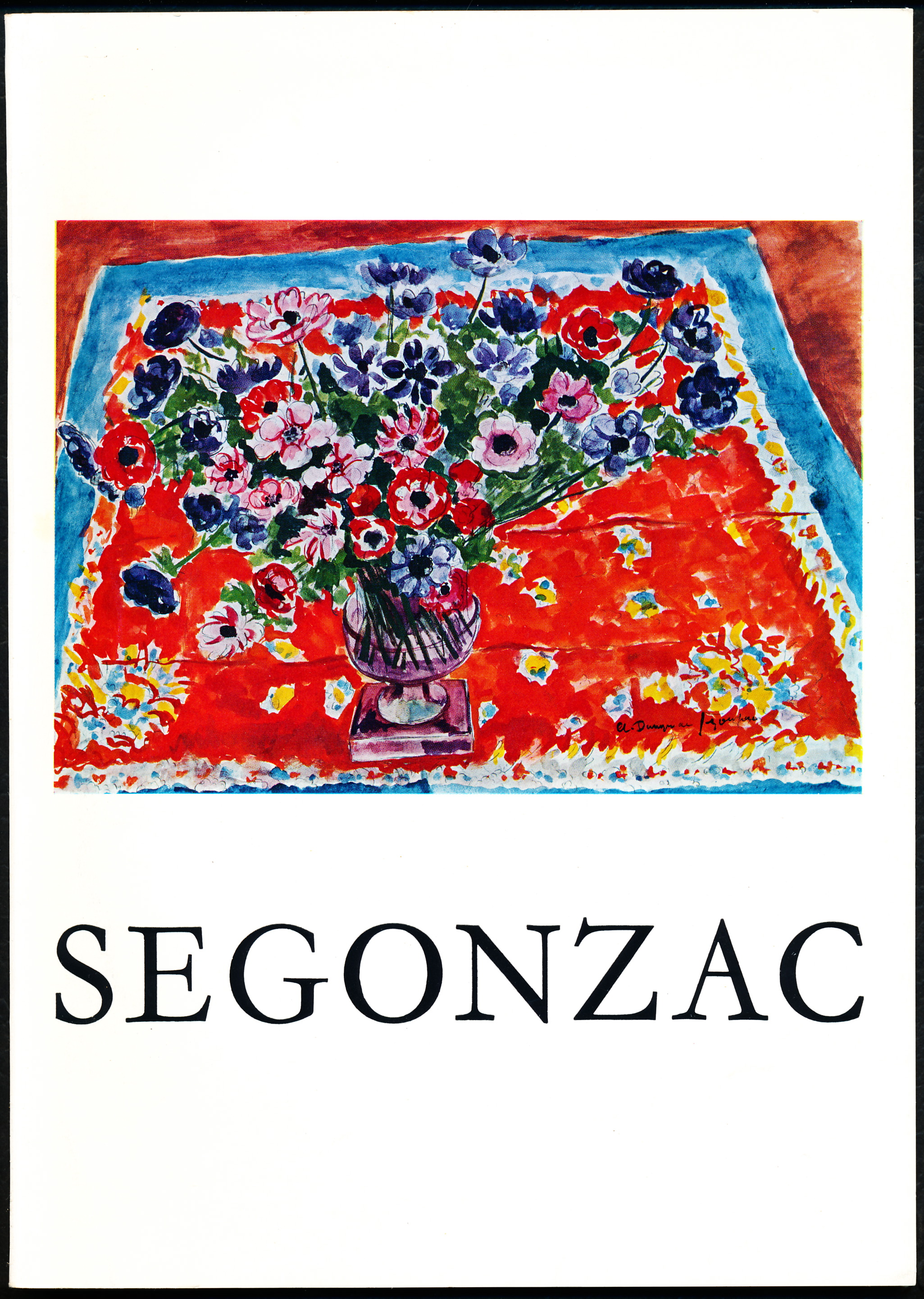 DUNOYER DE SEGONZAC - Acquavella Galleries, New York - 1966 d'Andre; Et Al Dunoyer De Segonzac