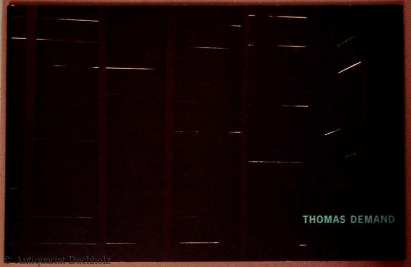 Thomas Demand: Demand, Thomas