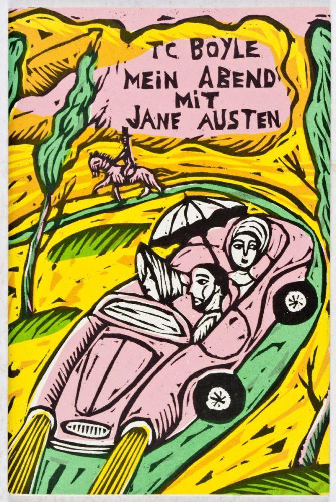 Mein Abend mit Jane Austen - Boyle, Tom Coraghessan; Sophie Dutertre (illust.)