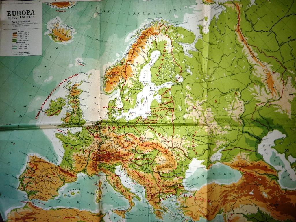 Cartina Geografica Italia Ungheria