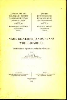 Ngombe-Nederlands-Frans Woordenboek. Dictionnaire ngombe - néerlandais -: ROOD, N
