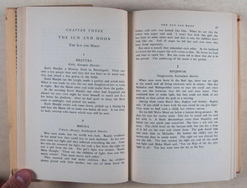 Tribal Myths of Orissa: Specimens of the: Elwin, Verrier