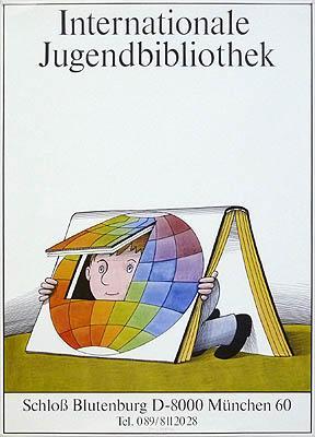 Plakat / poster: Internationale Jugendbibliothek. Schloß Blutenberg: Herfurth, Egbert: