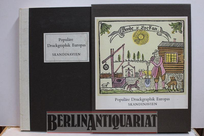 Populäre Druckgraphik Europas. Skandinavien vom 15. bis: Clausen, V. E.: