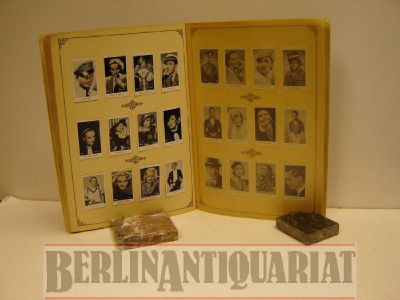 Film-Bilder. Album 1. (Goldenes CAID-Film-Bilder-Album d. Tonfilm-Künstler.: Film. - CAID