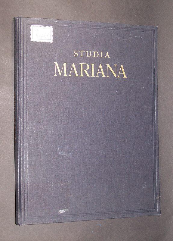 Studia Mariana. Publiées sous la direction de: Parrot, André, Marie-Therese
