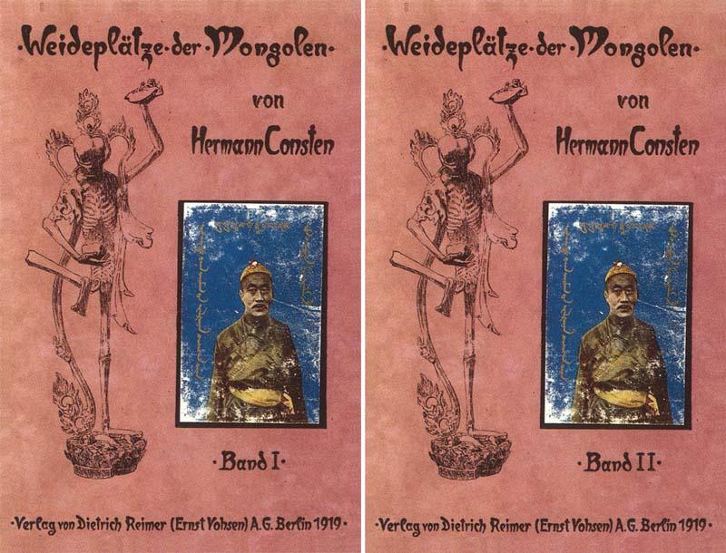 Weideplätze der Mongolen - 1 - 2: Consten, Hermann