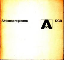 DGB-Aktionsprogramm 65: Deutscher Gewerkschaftsbund (Hrsg.)