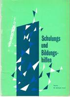 Schulungs- und Bildungshilfen - Technik der geistigen: Deutscher Gewerkschaftsbund (Hrsg.)