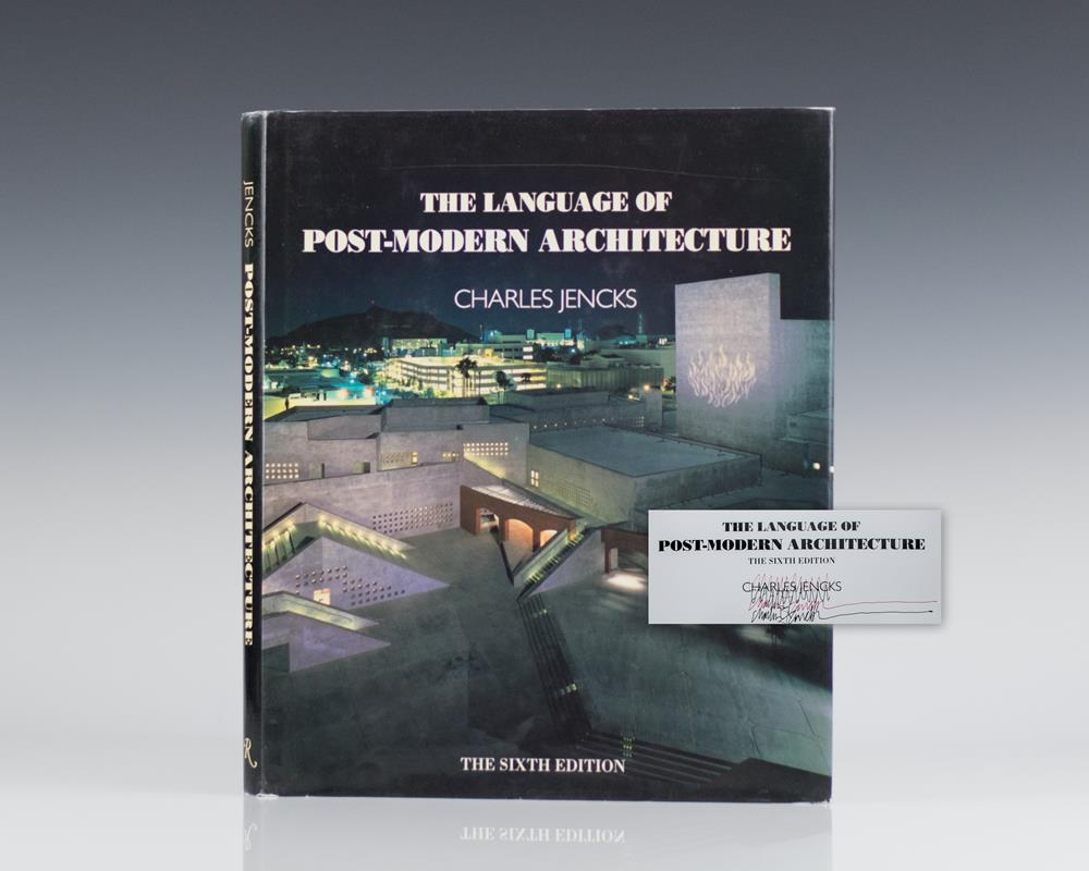 The Language Of Post Modern Architecture By Jencks Charles 1991 Signed By Author S Raptis Rare Books Abaa Ilab