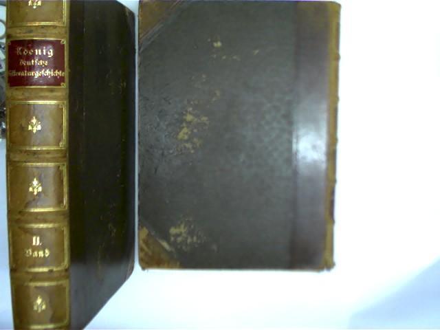 2 Bücher: Deutsche Literaturgeschichte, Band 1 und: Koenig, Robert: