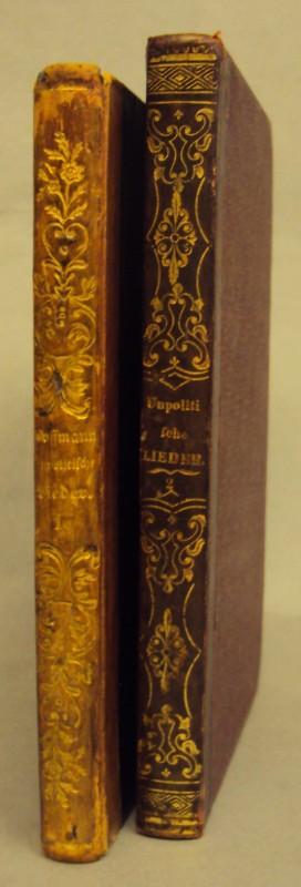 Unpolitische Lieder. Erster Theil (2. Aufl.) u.: Hoffmann von Fallersleben,