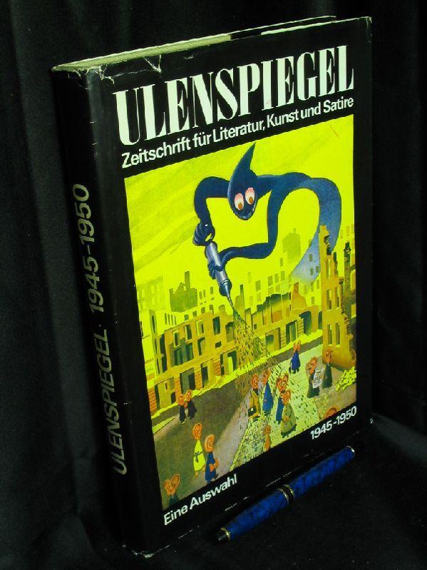 Ulenspiegel - Zeitschrift für Literatur, Kunst und: Sandberg, Herbert und