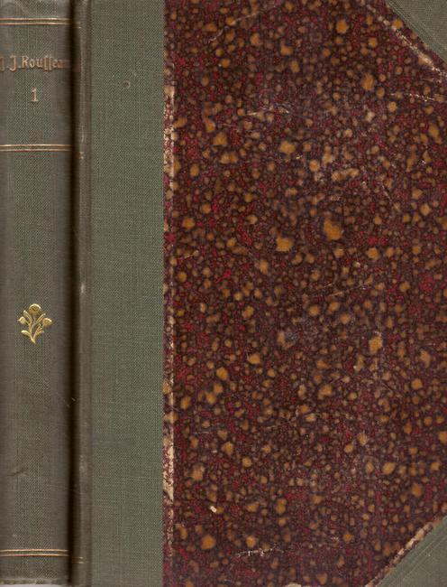 4 Titel / 1. Bilderbuch meiner Jugend,: Rousseau, Jean-Jacques,