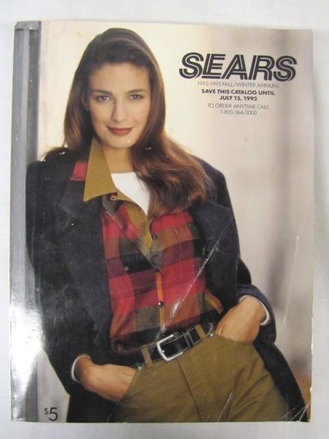 Sears Fall/Winter Annual Catalog 1992-1993 by Sears Roebuck: GOOD. PAPER  BACK GREY (1992) | Princeton Antiques Bookshop