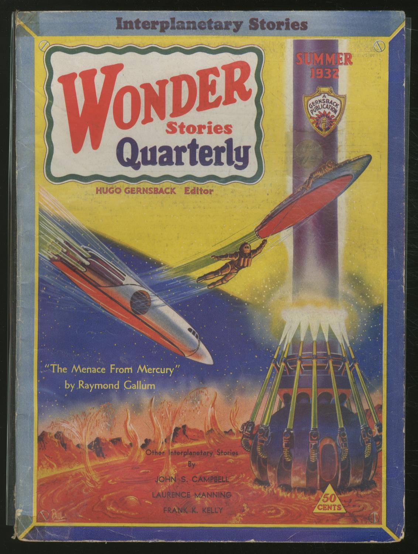 Pulp magazine]: Wonder Stories Quarterly ? Summer: PAUL, Frank R.,