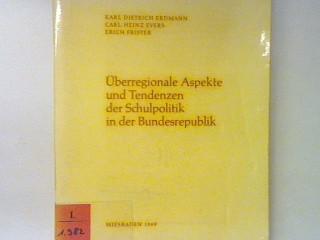 Planung des Deutschen Bildungsrates. - in : Erdmann, Karl Dietrich: