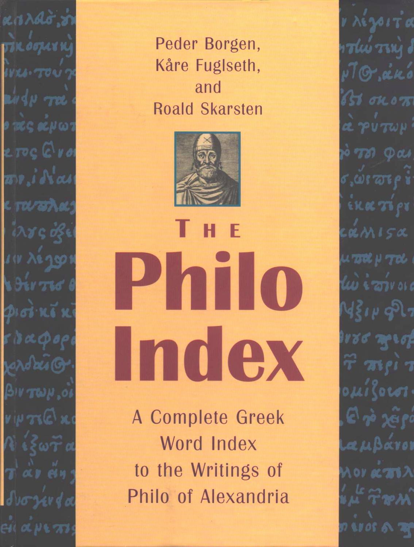 The Philo Index - Borgen, Peter - Fuglseth, Kåre - Skarsten, Roald