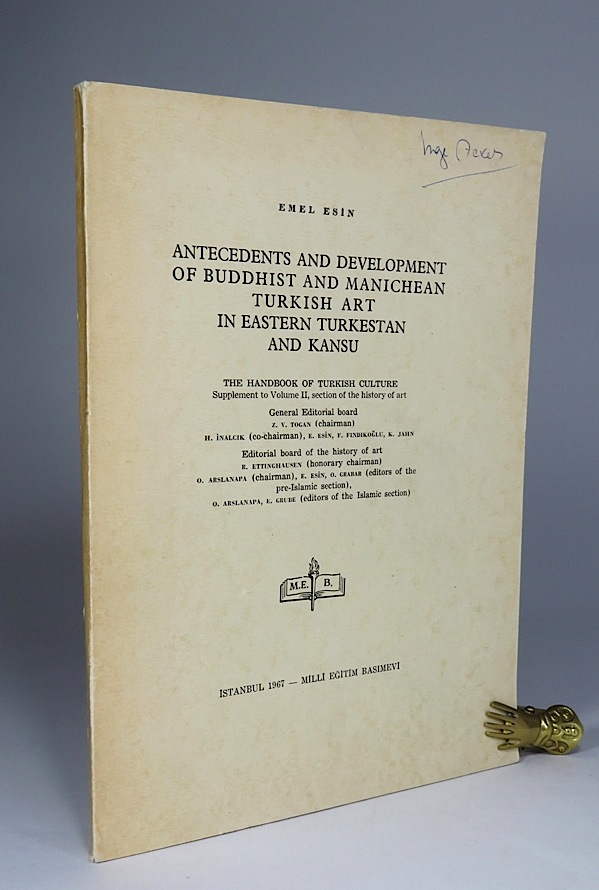 Antecedents and Developments of Buddhist and Manichean: Esin, Emel.