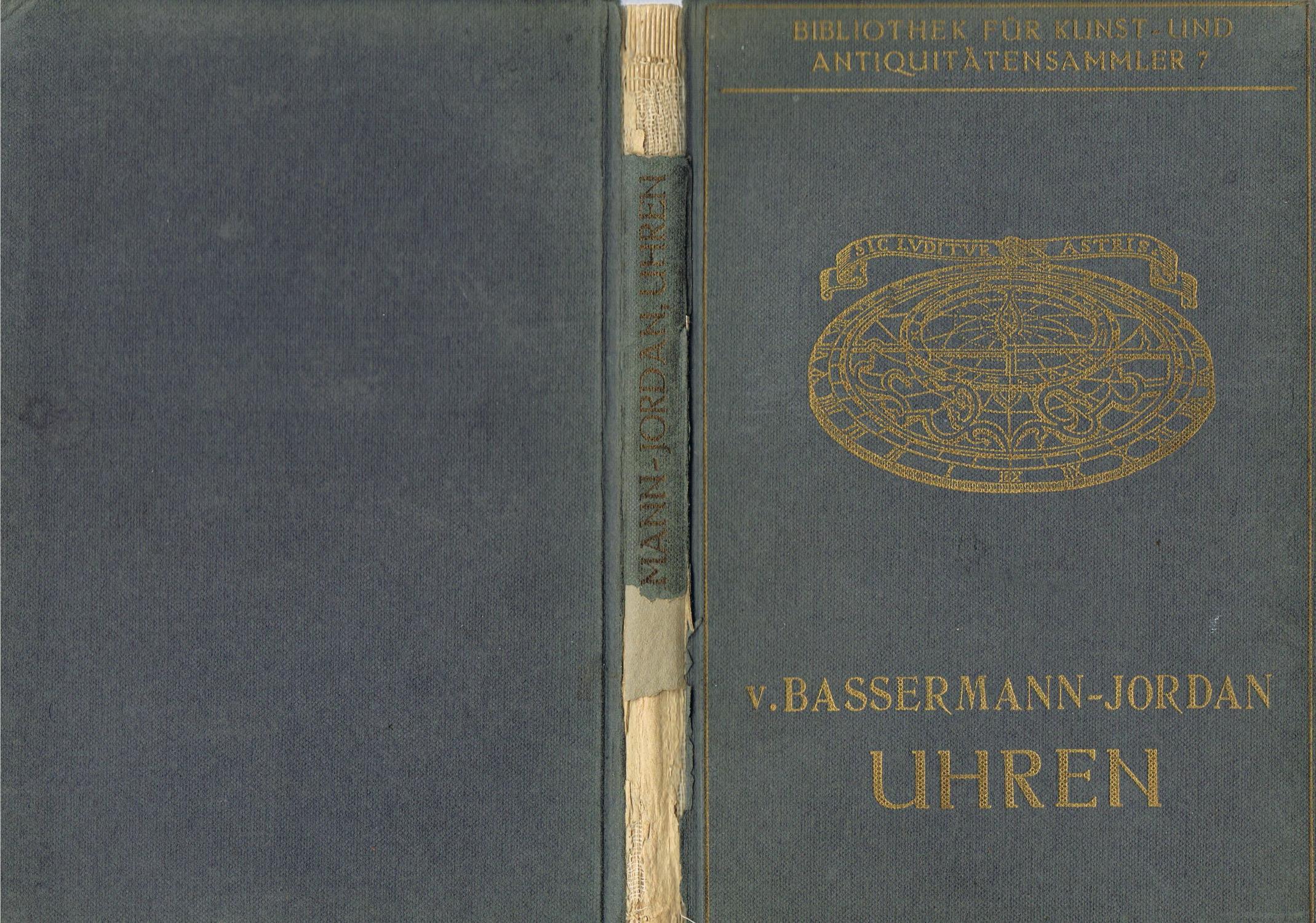 Bibliothek für Kunst- und Antiquitätensammler Band 7: Ernst von Bassermann-Jordan