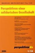 Perspektiven einer solidarischen Gesellschaft;