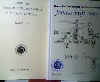 Jahrbuch der Deutschen Gesellschaft für Chronometrie e.V.: Deutsche Gesellschaft für