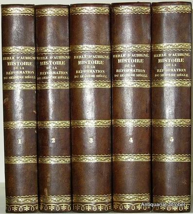 Histoire de la réformation du seizième siècle.: Merle d'Aubigné, J(ean)