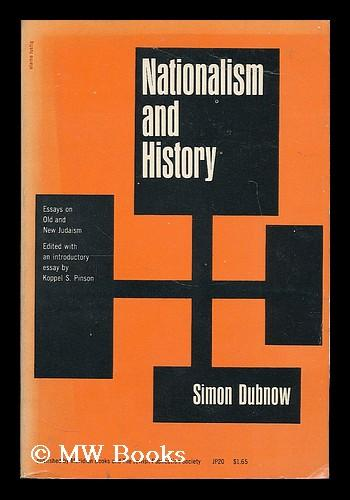 Nationalism and history essays on old and new judaism custom literature review ghostwriting websites online