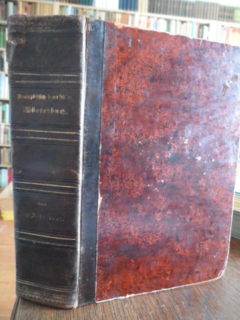 Vollständiges Wörterbuch der Französischen und Deutschen Sprache.: Thibaut, M. A.: