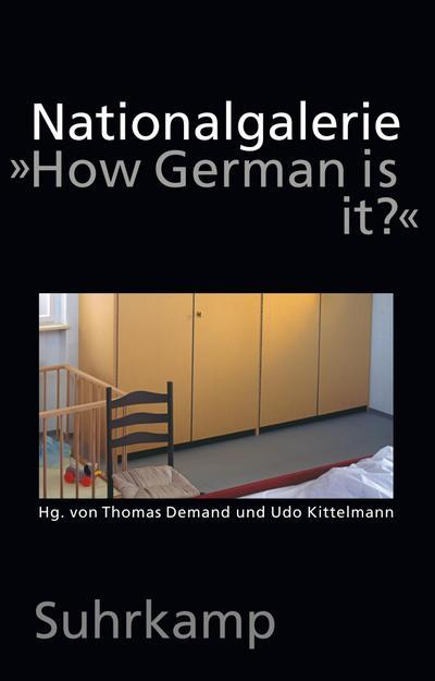 "Nationalgalerie ""How German is it?"": Thomas Demand"