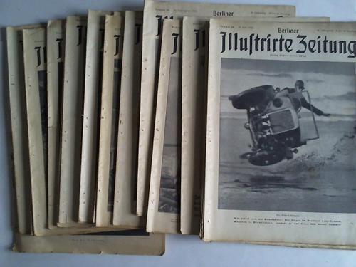 36 verschiedene Ausgaben aus den Jahren 1932: Berliner Illustrierte Zeitung