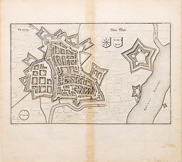 Vesalia (Wesel).: GOTTFRIED, Johann Ludwig