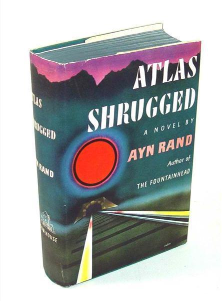 Atlas Shrugged by Ayn Rand 1957 Random House 25th printing