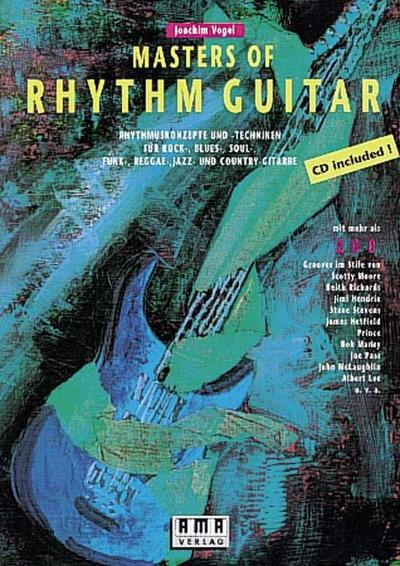 Masters of Rhythm Guitar. Mit CD : Joachim Vogel