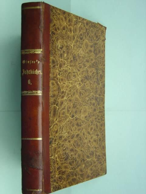 Jahrbücher für Gesellschafts- und Staatswissenschaften. Hier: 3.: Glaser, J. C.
