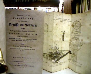 Kosmographische Entwickelung (sic!) der vornehmsten Begriffe und: Voigt, Johann Heinrich.