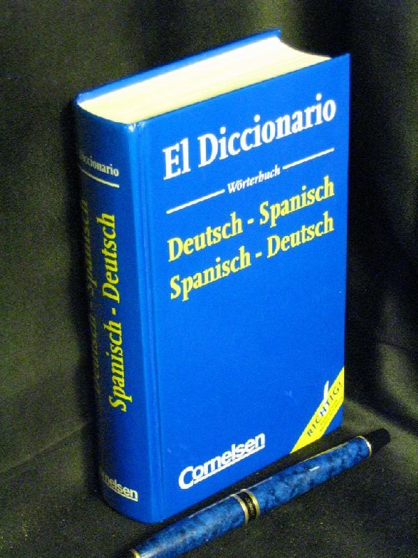 El Diccionario Deutsch-Spanisch, Spanisch-Deutsch -: Haensch, Günther -
