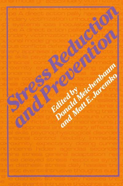 Stress Reduction and Prevention - M. Jaremko
