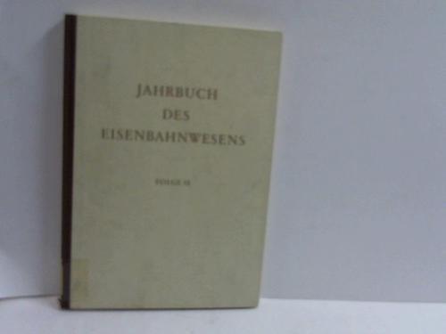 Jahrbuch des Eisenbahnwesens. 15. Folge: Vogel, Th. (Hrsg.)