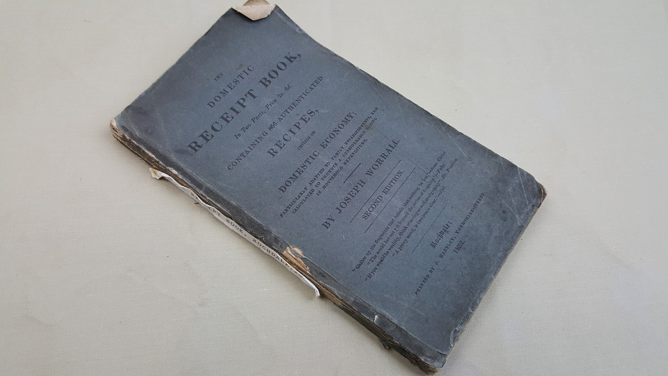 The Domestic Receipt Book In Two Parts,: Worrall, Joseph
