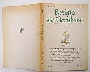 Revista De Occidente nº 10: Derecho consuetudinario: Francesco Carnelutti; Miguel