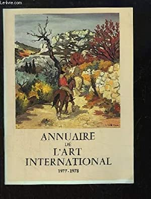 Annuaire de l'Art International, 1977 - 1978: COLLECTIF