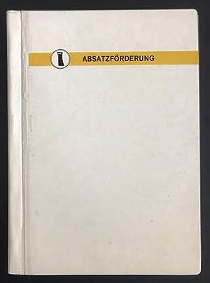 152 einseitig bedruckte Informationsblätter zur Absatzförderung von Zigarettenmarken aus dem Hause ...