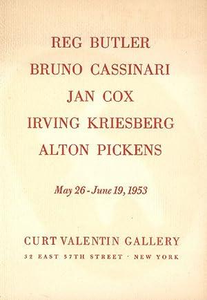 Reg Butler, Bruno Cassinari, Jan Cox, Irving